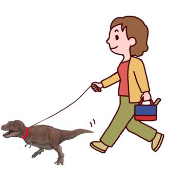 ティラノサウルス散歩.jpg